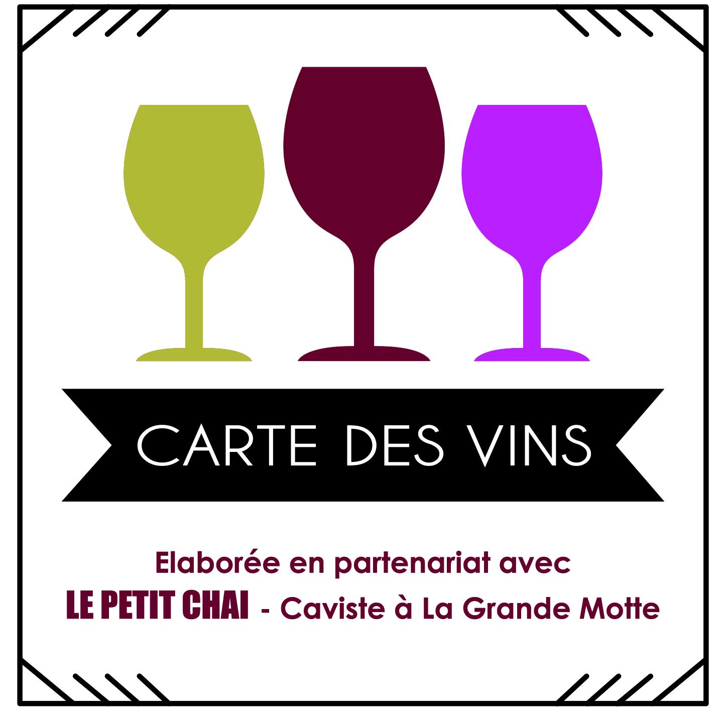 carte des vins conseil caviste la grande motte le petit chai cave vin restauration restaurant sommelier