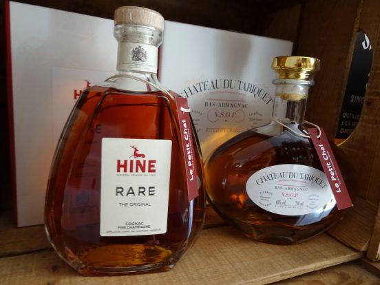 cognac armanac le petit chai caviste la grande motte tariquet hine vsop rare