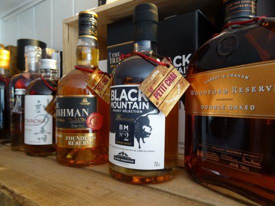 whisky le petit chai caviste la grande motte bieres artisanales spiritueux whisky rhum gin cognac
