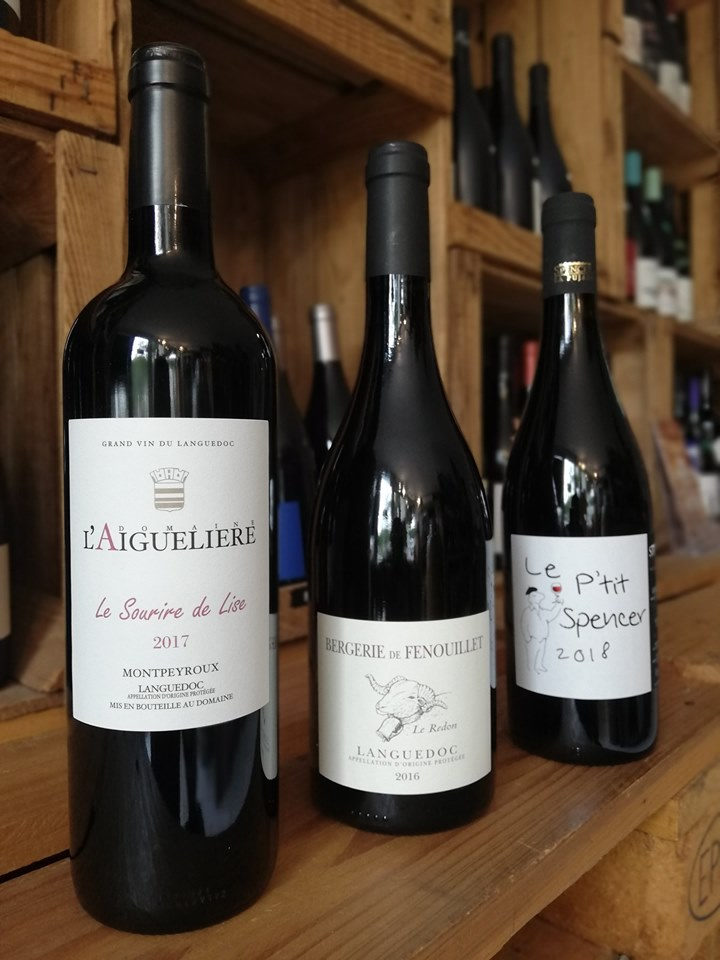 aigueliere fenouillet vente spencer la pujade caviste la grande motte le petit chai nouveautés vins région languedoc cave