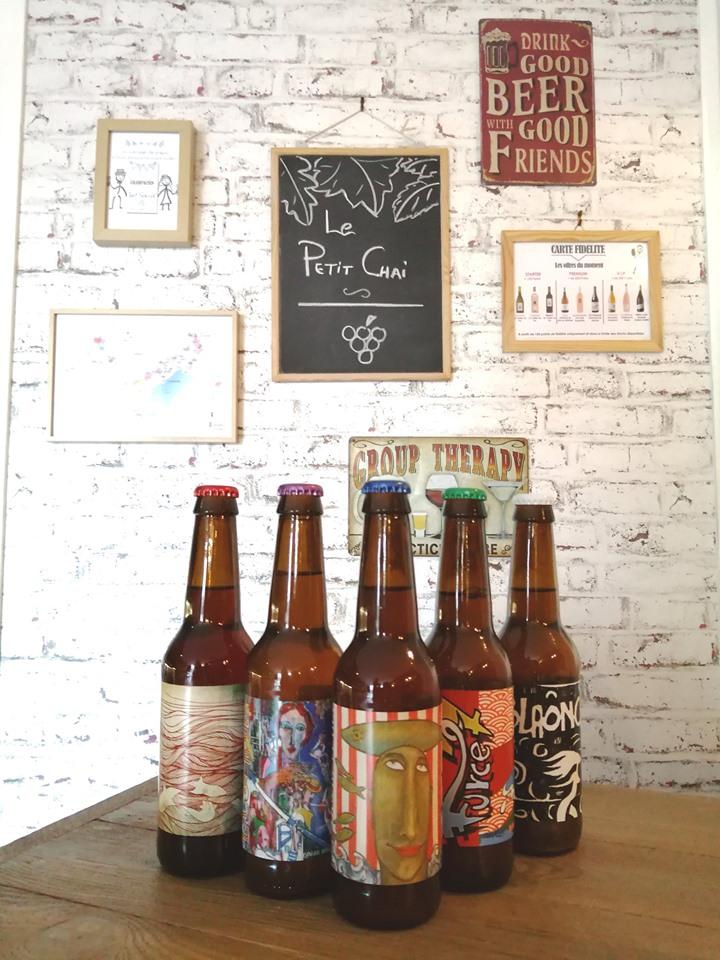 nouveautés caviste la grande motte le petit chai bières artisanales sete singulière vins cave