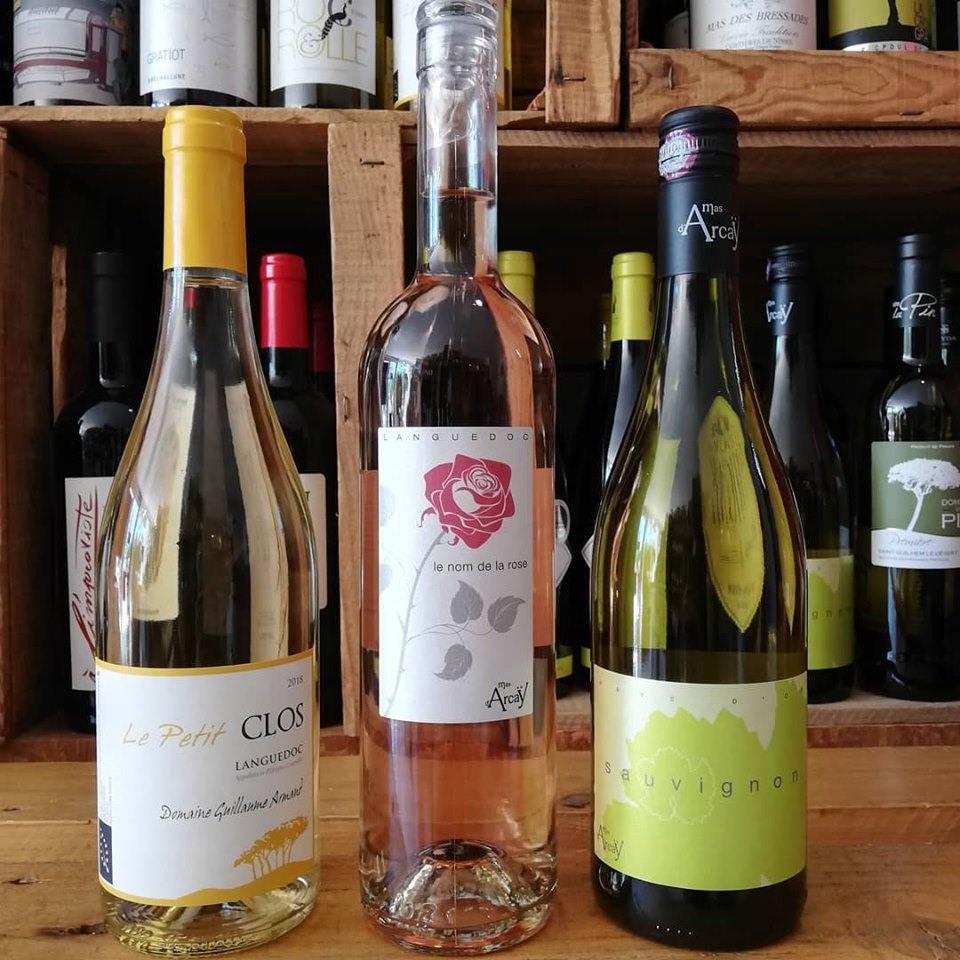 petit clos nom de la rose arcay sauvignon vins vin caviste la grande motte le petit chai cave nouveauté languedoc