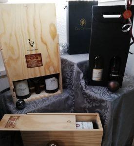 coffret cadeau caviste la grande motte le petit chai cave a vin entreprise fin d année