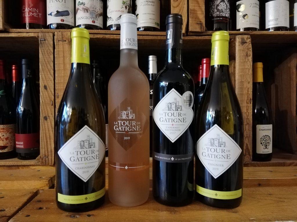 cave a vin vins domaine tour gatigne rosé blanc rouge igp d oc languedoc la grande motte le petit chai caviste hérault wine