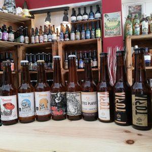 bieres artisanales locales regionales caviste la grande motte cave a vin le petit chai craft beer brasseur